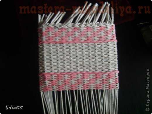 Мастер-класс по плетению из газет: Копилочка