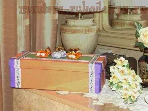 Мастер-класс: Декорирование обувной коробки. Хоровод друзей