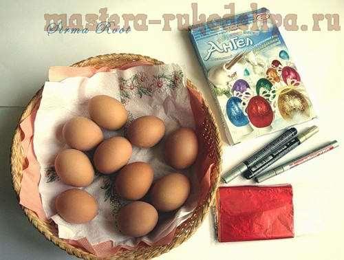 Идеи Декора яиц к Пасхе 1