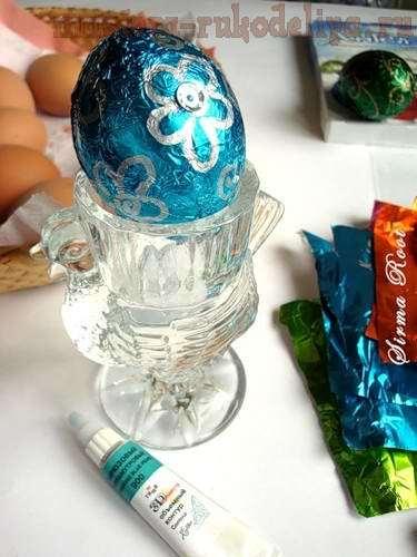 Идеи Декора яиц к Пасхе 6