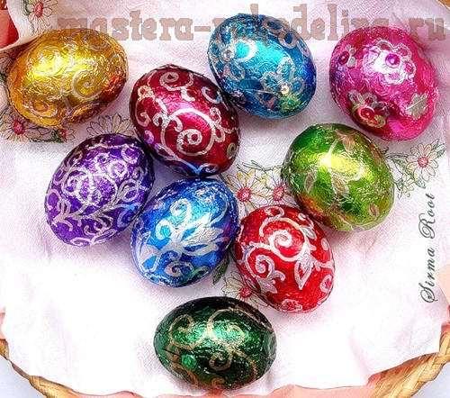 Идеи Декора яиц к Пасхе 7