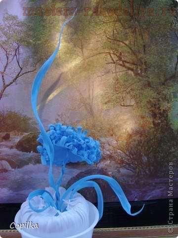 Мастер-класс: Хризантема из пластиковой банки