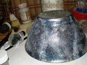 Мастер-класс: Декорирование пиалы - Каменная ваза