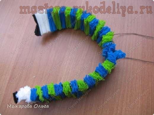 Мастер-класс: Клоун из гофрированных спиралек