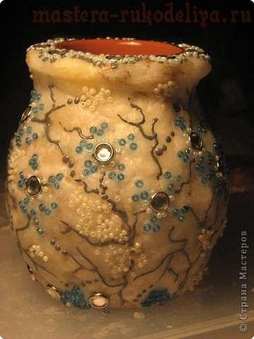 Мастер-класс; Каменная; ваза эпохи средневековья