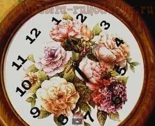 Мастер-класс по декорированию: Часы своими руками
