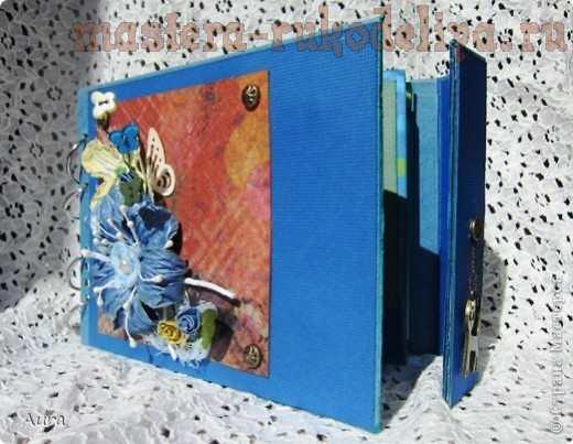 Мастер-класс: Альбом из перекидного календаря