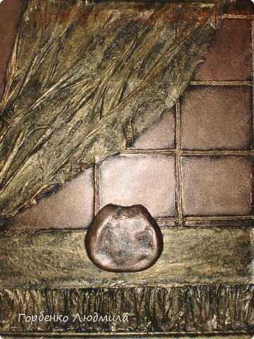 Мастер-класс по декорированию: Панно Букет из пуговиц
