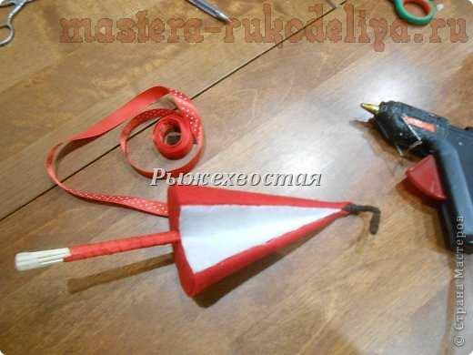 Мастер-класс по шитью из фетра: Елка-яблочко