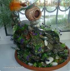 Мастер-класс: Имитация фонтана