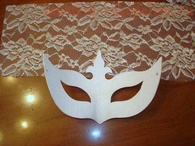 Мастер-класс по декорированию: Карнавальная маска