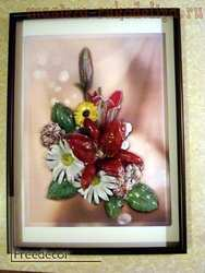 Мастер-класс по декорированию: Картина из термонабора; Летний контраст.