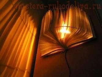 Мастер-класс: Книжный ночник