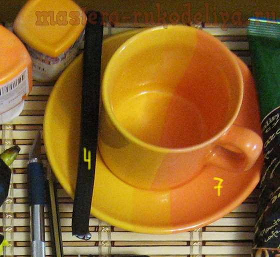 Мастер-класс по декорированию: Кофейный сервиз