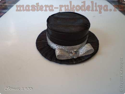 Мастер-класс по декорированию: Бантики и шляпки