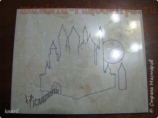 Мастер-класс по декорированию: Барельеф; Замок.