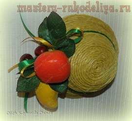 Мастер-класс по декорированию: Декоративные шляпки