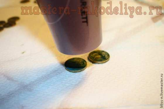 Мастер-класс по декорированию: Делаем старинные монеты