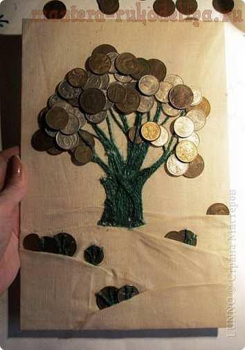 Мастер-класс по декорированию: Денежное дерево