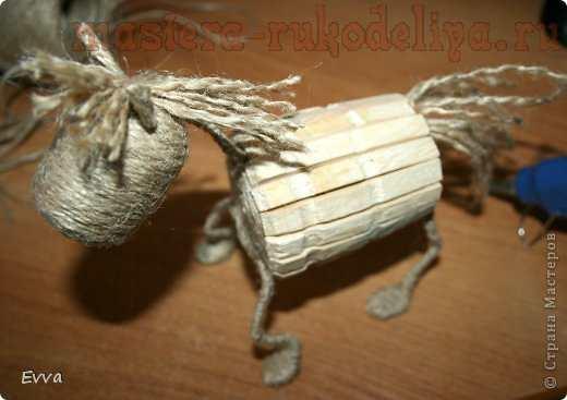 Мастер-класс по декорированию: Деревянная лошадка