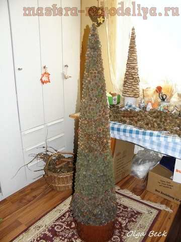 Мастер-класс по декорированию: Елка из шишек лиственницы
