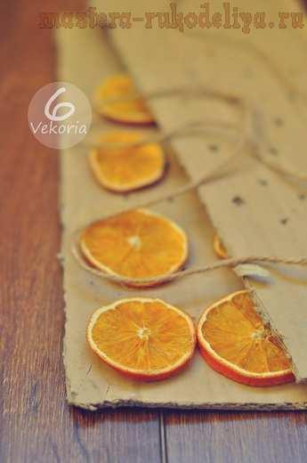 Мастер-класс по декорированию: Как сушить цитрусовые