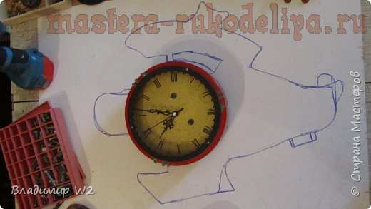 Мастер-класс по декорированию: Хронометр капитана Немо в стиле стимпанк