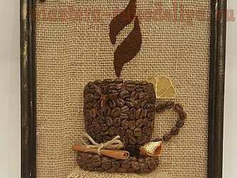 Мастер-класс по декорированию: Кофейное панно