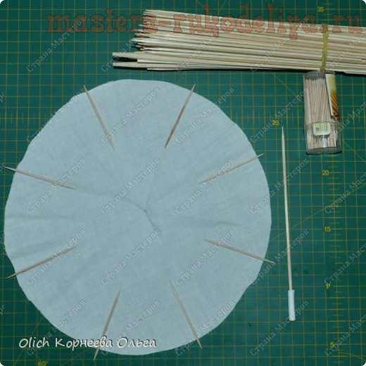 Мастер-класс по декорированию: Кофейные зонты