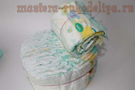 Мастер-класс по декорированию: Колясочка из памперсов