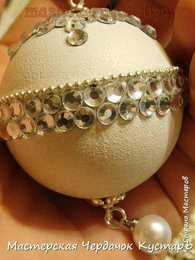 Мастер-класс по декорированию: Новогодние шары