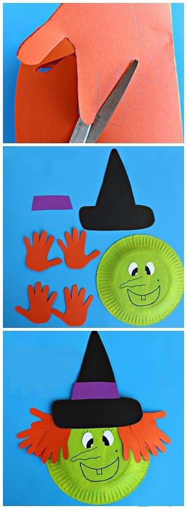 Идеи для поделок на Хэллоуин с детьми