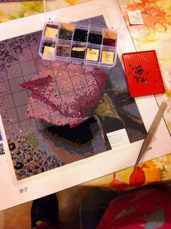 Как начинающему творцу выбрать «правильную» алмазную вышивку?