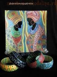 Мастер-класс по точечной росписи: Тарелочка по мотивам картины Confidencias