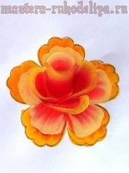 Мастер-класс по росписи: Фантазийная роза