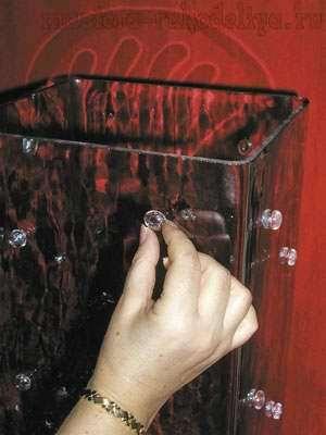 Мастер-класс: Гламурная ваза из простого стекла