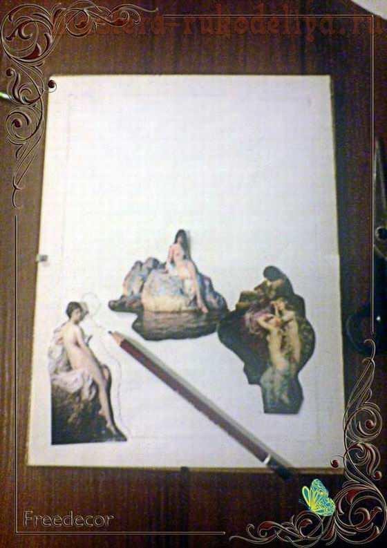 Мастер-класс: Картина в технике; витраж.