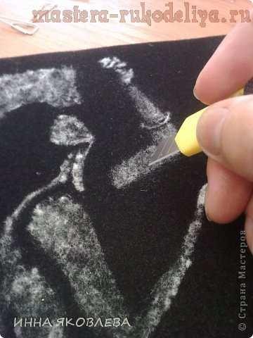 Мастер-класс по технике ошибана: Картины тополиным пухом на бархатной бумаге