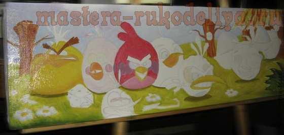 Мастер-класс по рисованию: Angry Birds