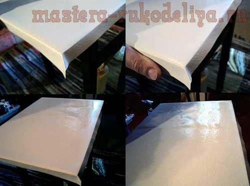 Мастер-класс по росписи: Как натянуть лист бумаги на подрамник