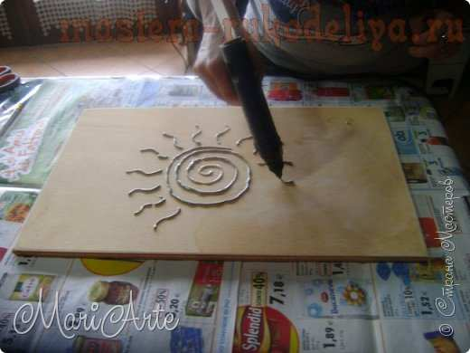 Мастер-класс по росписи: Картина за 1 час