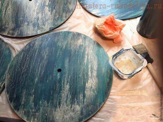 Как сделать вращающийся органайзер для красок