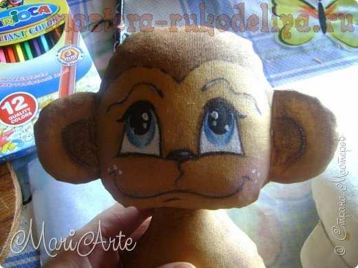 Мастер-класс по шитью игрушек: Ароматная обезьянка