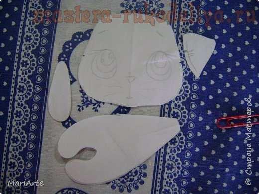 Мастер-класс по шитью игрушек: Ароматный котенок