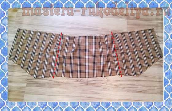 Мастер-класс по шитью: Ассиметричная юбка
