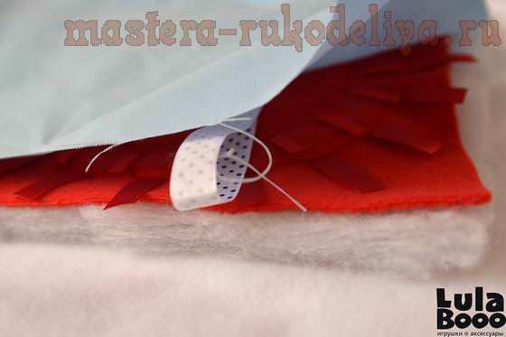 Мастер-класс по шитью: Развивающий бортик-книжка