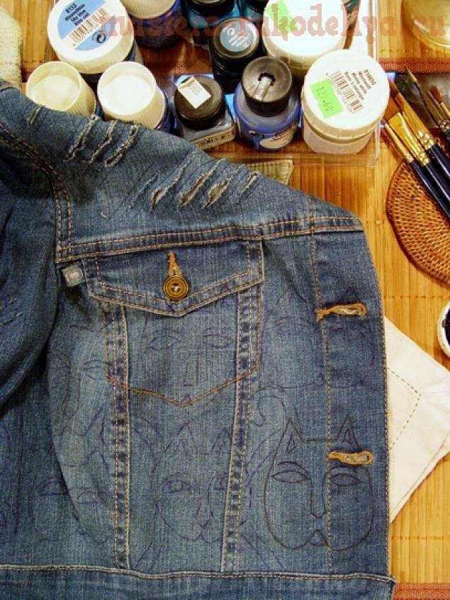 Мастер-класс по шитью: Переделка джинсовой куртки