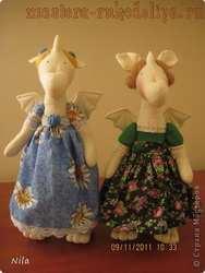 Мастер-класс по шитью игрушек: Два дракончика