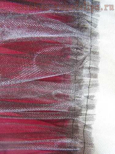 Мастер-класс по шитью: Детская фатиновая юбочка