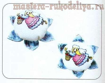 Мастер-класс: Игольница-цветок из крышки от бутылки